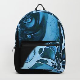 Tint Blot - Cracked Glass Blue Backpack