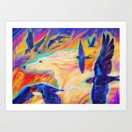 Windrunners Art Print