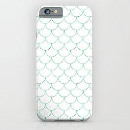 Mermaid Scales in Green iPhone Case