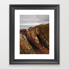 Port An Amaill Framed Art Print
