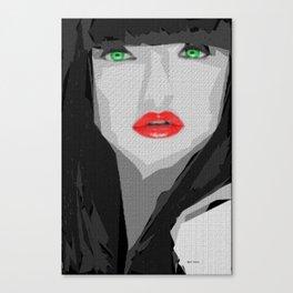 Female Expressions XXXIV Canvas Print