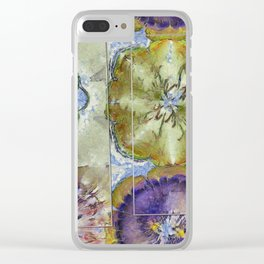Unoiled Vulnerable Flower  ID:16165-055943-96401 Clear iPhone Case