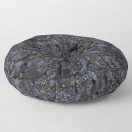 Fit In (moonlit blue) Floor Pillow