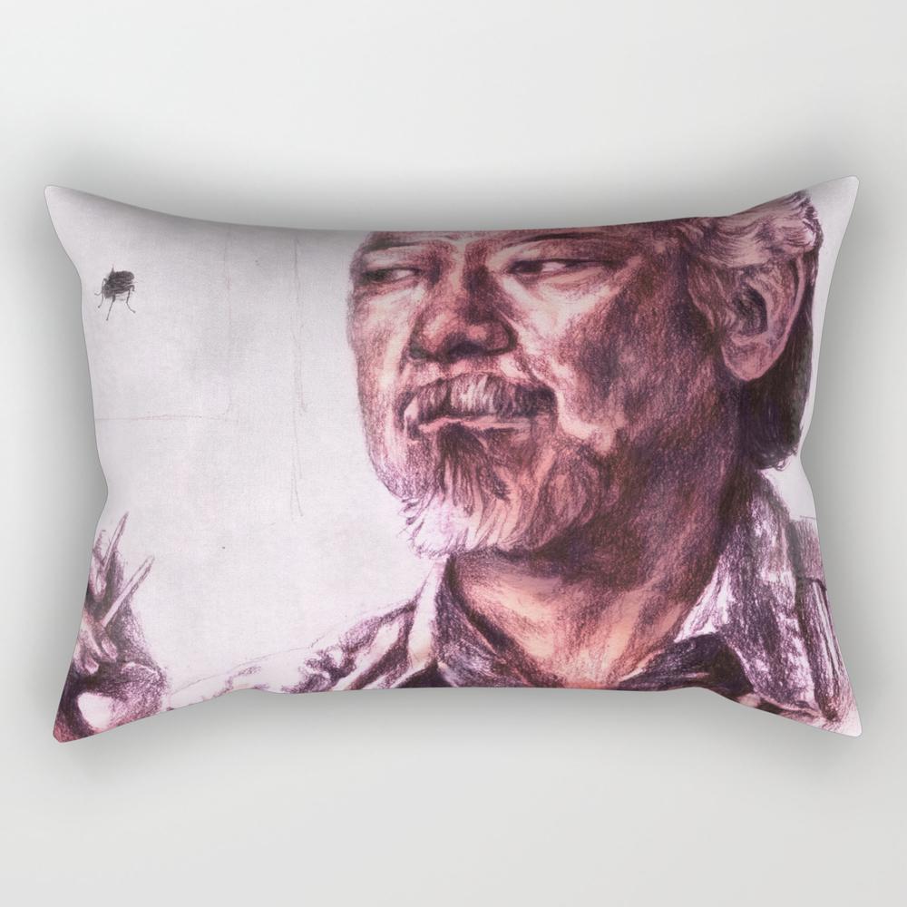 Mr. Miyagi From Karate Kid Rectangular Pillow RPW1607600