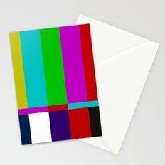 Color Glitch Stationery Cards