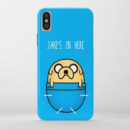 Jake's in here iPhone Case