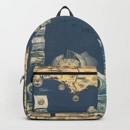 old florida map Backpack