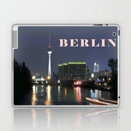 Night at river Spree in BERLIN Laptop & iPad Skin