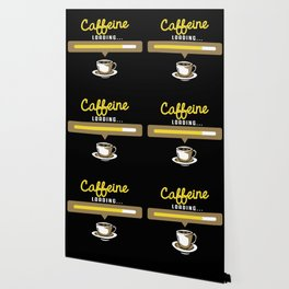 Caffeine Loading for Coffee Lovers Wallpaper