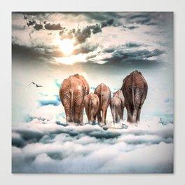 Cloud Walkers Canvas Print