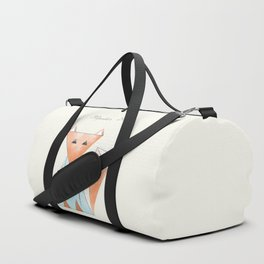 Hipster Fox Duffle Bag