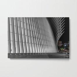 Oculus at night, downtown, Manhattan, New York (2020-5-GNY144) Metal Print