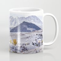 gore Mugs featuring Gore Range by Two Happy Campers