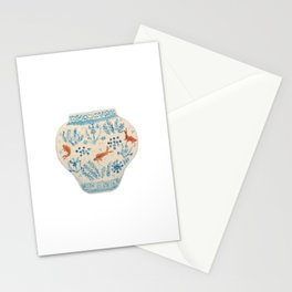 Goldfish Ginger Jar  Stationery Cards