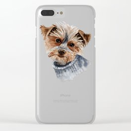Snuggle up warm. Clear iPhone Case