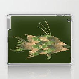 Scuba Deb's Camo Hogfish Laptop & iPad Skin