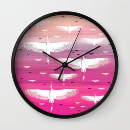 The Journey, Soft Dawn Wall Clock