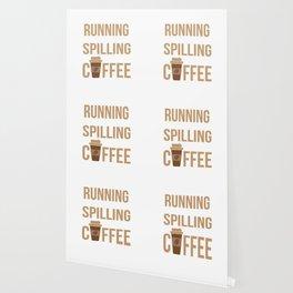 Tried Running, Kept Spilling My Coffee Wallpaper