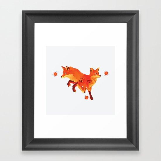 Keep the Fire Framed Art Print