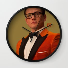 Eggsy Unwin Wall Clock