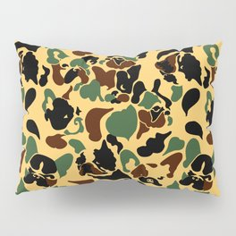Frenchie Camouflage Pillow Sham