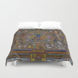 The Medicine Buddha Duvet Cover
