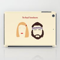tenenbaums iPad Cases featuring The Royal Tenenbaums, Margot, & Richie by bonieiji