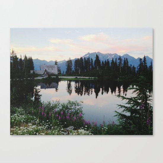 Highwood Lake Canvas Print