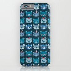 Cute Bear Faces Pattern Slim Case iPhone 6s