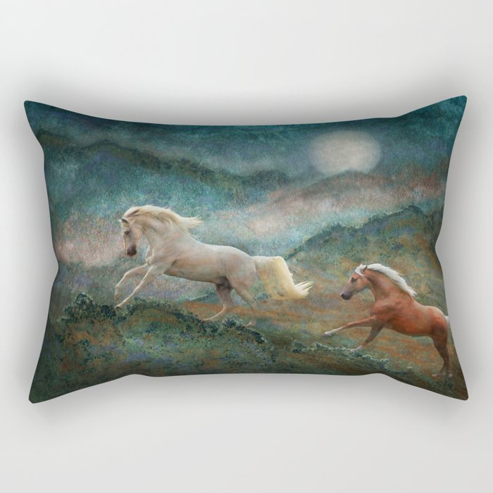Celestial Spirits Rectangular Pillow