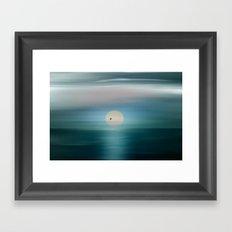 Venus in solar transit. Framed Art Print