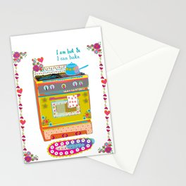 Hot Baker Stationery Cards