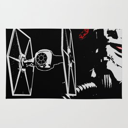Tie Fighter Rug
