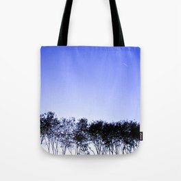 Because the sky is blue Tote Bag