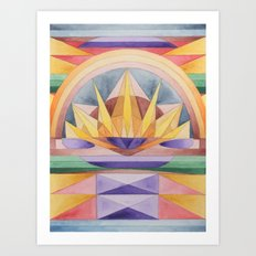 Summer Rising Art Print