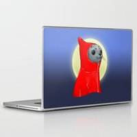 seal Laptop & iPad Skins featuring Hooded Seal by Mirco