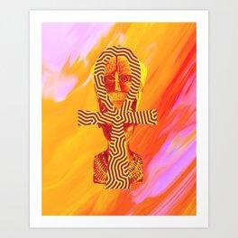 Ankh Art Print
