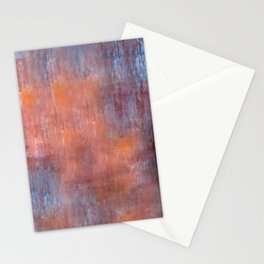 Orange Color Fog Stationery Cards