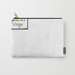 Virgo Vibes Carry-All Pouch