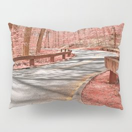 Opalescent Forest Road Pillow Sham
