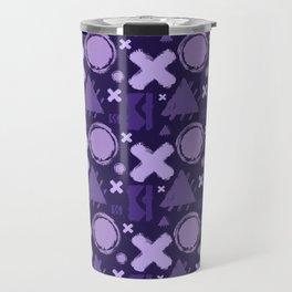 Ultra Violet Geometrix Travel Mug