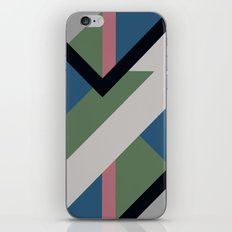 Modernist Dazzle Ship Camouflage Design iPhone & iPod Skin