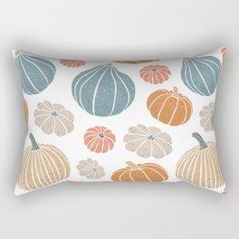 Pumpkin Harvest Rectangular Pillow
