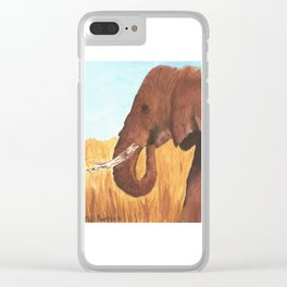 """""""Elephant"""" Clear iPhone Case"""