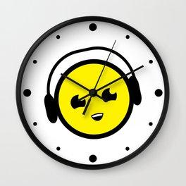 DJ Smile Rave Wall Clock