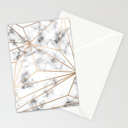 Marble & Gold 046 Stationery Cards
