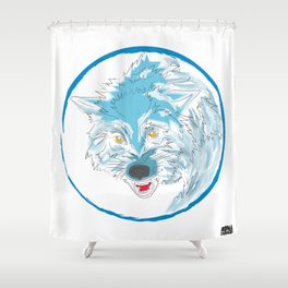00 - WOLF Shower Curtain