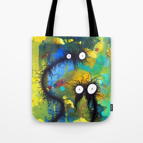 The creatures from the drain 24 Tote Bag