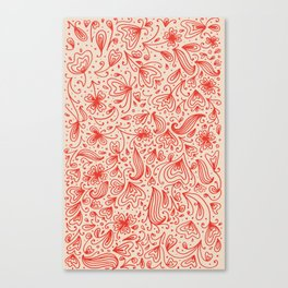Kind of red Canvas Print