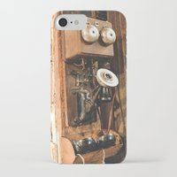 telephone iPhone & iPod Cases featuring Telephone by Imaginatio